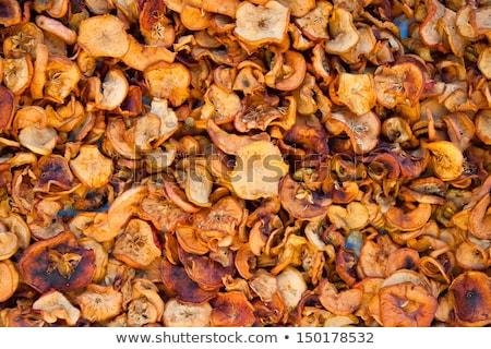 Gedroogd appel vruchten Rood snack Stockfoto © Digifoodstock