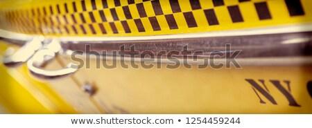 Taxi lado puerta icono color diseno Foto stock © angelp