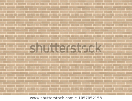 Beige Brick Wall Seamless Texture Stock photo © Anna_leni