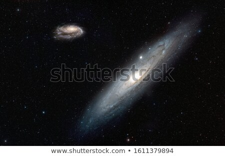 Stock photo: Nebulae and galaxies. Elements of this Image Furnished by NASA