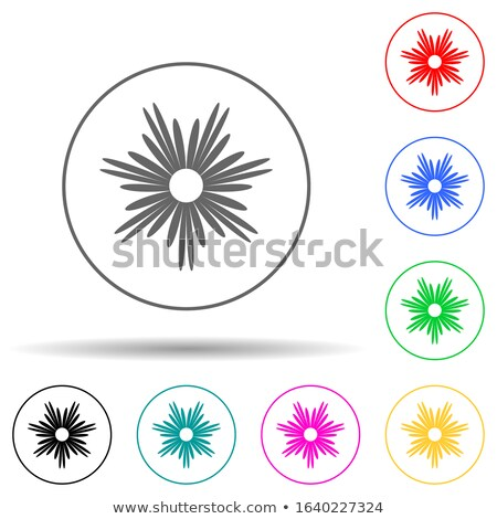 Spring and gardening. Glyph color icon set. Vector illustration Stock photo © Imaagio