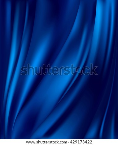 blue satin background Stock photo © ozaiachin