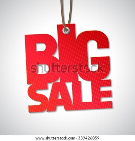 Big sale word  stock photo © moatsem059