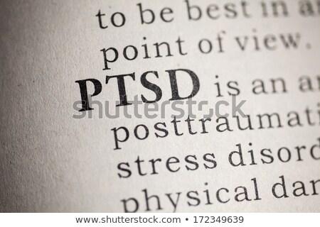 うつ病 · 言葉 · 辞書 · 定義 · ビジネス · 手紙 - ストックフォト © tangducminh