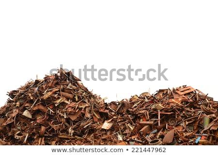 Pile of scrap iron Stock photo © deyangeorgiev