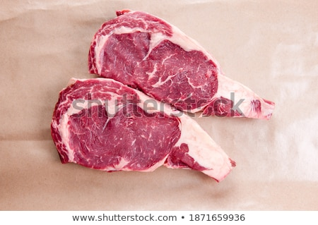 ribeye prepared and ready to eat  Stock photo © dacasdo