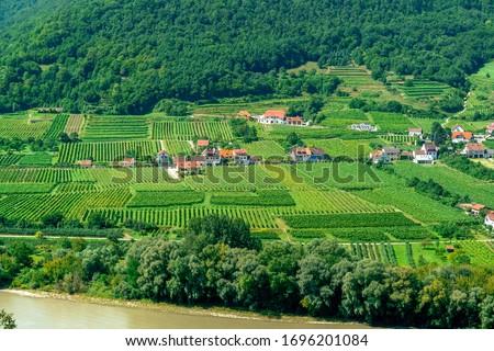 szőlőskert · alsó · Ausztria · épület · kereszt · építészet - stock fotó © lianem