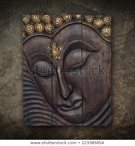 Buddhist art on the walls Stock photo © bbbar