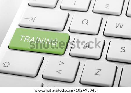 wording training on computer keyboard stock photo © redpixel