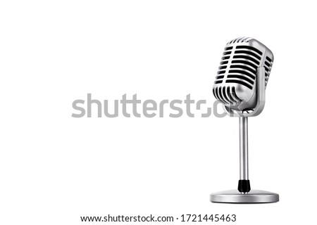 Microphone Stock photo © wellphoto