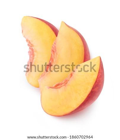 три персики свежие персика еды Сток-фото © raphotos