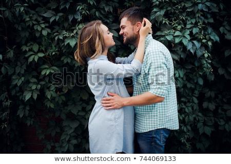 couple expecting a baby Stock photo © adrenalina