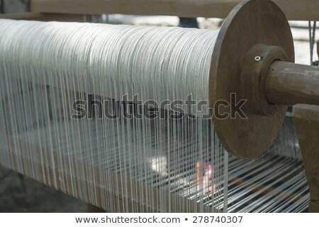 loom in a rug factory stock photo © dutourdumonde