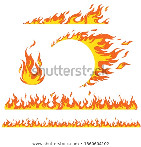 Hot fire Stock photo © bluering