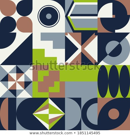Abstract simple geometric figure stock photo © Vanzyst