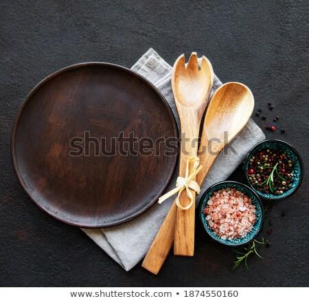 Rosolare cena piatto ceramica oggetto piatto Foto d'archivio © Digifoodstock