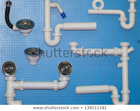 Plumber Fitting Sink Pipe Stock photo © AndreyPopov