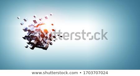 puzzle figure point stock photo © dariusl