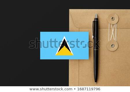 mail to-from Saint Lucia Stock photo © perysty