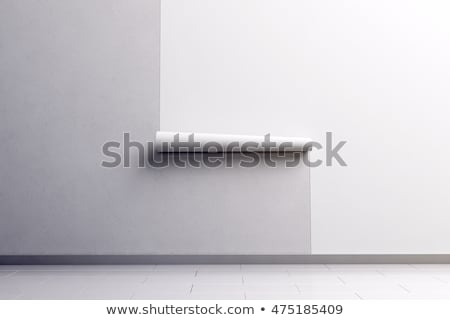 decorator with rolls of wallpaper stock photo © photography33