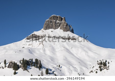 Dolomites - Crepa Neigra, Canazei Stock photo © Antonio-S