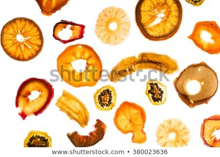 secas · fresco · banana · quadro · fatias - foto stock © Stootsy