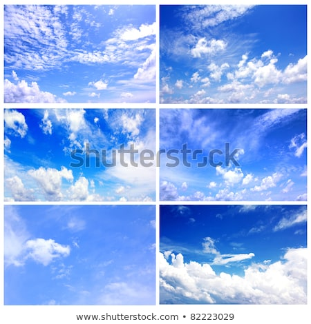 Blue Sky and Clouds #6 Stock photo © Forgiss