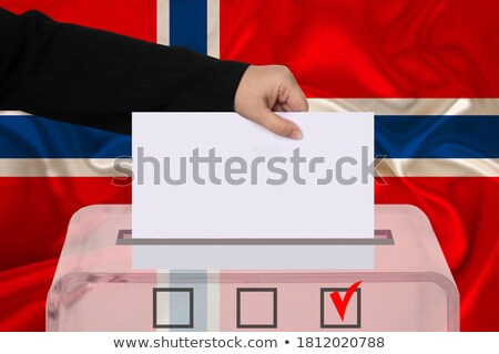 Ballot box Norway Stock photo © Ustofre9