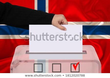 ballot box norway stock photo © ustofre9