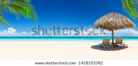 summer atlantic beach views stock photo © morrbyte
