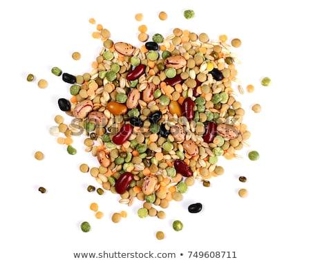 raw mixed grains stock photo © tangducminh