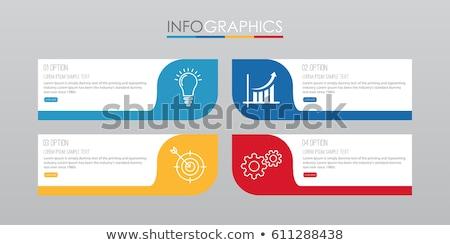 Stockfoto: Vector · abstract · sjabloon · pleinen · illustratie