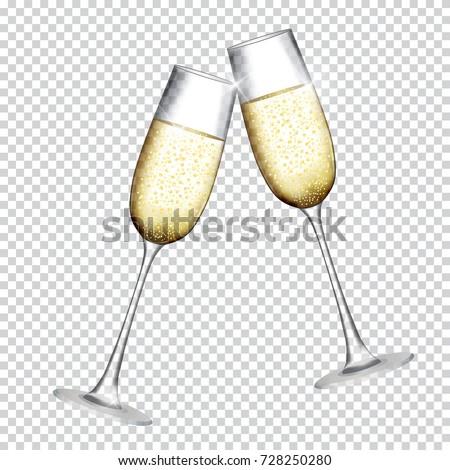 dwa · flety · obraz · pełny · szampana - zdjęcia stock © pressmaster