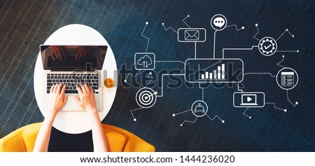 advertising and marketing success stock photo © olivier_le_moal