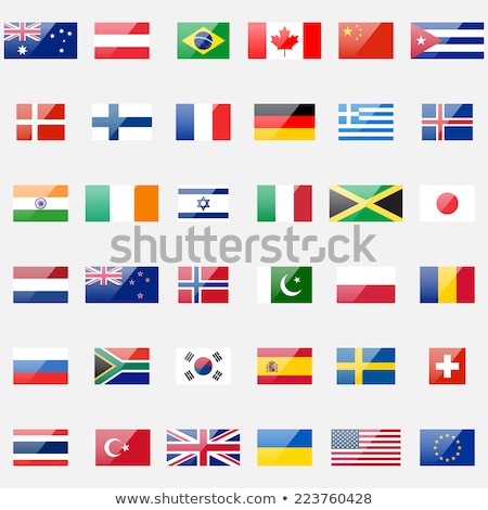 Thailand flag icon design Stock photo © kiddaikiddee
