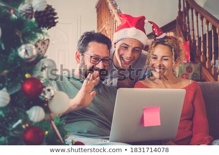 Enjoy Christmas Stock photo © Novic
