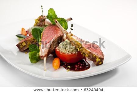 Heerlijk voedsel meel worst kok Stockfoto © wxin