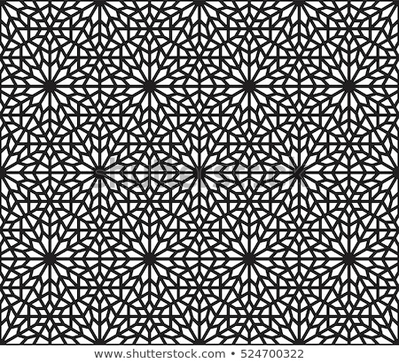 Stockfoto: Arab · gebrandschilderd · glas · stad · Marokko · mijlpaal · detail