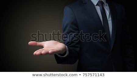 üzletember kezek fej izolált férfi üzlet Stock fotó © fuzzbones0
