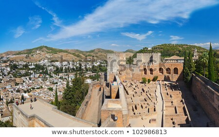 Granada cityscape Spain Stock photo © jeayesy