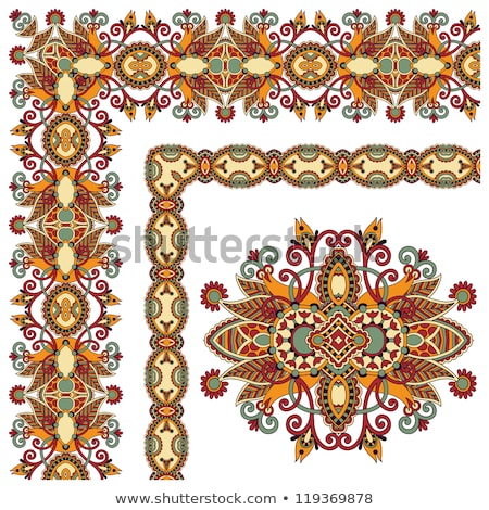брошюра цветочный Элементы шаблон дизайна бизнеса Сток-фото © vipervxw