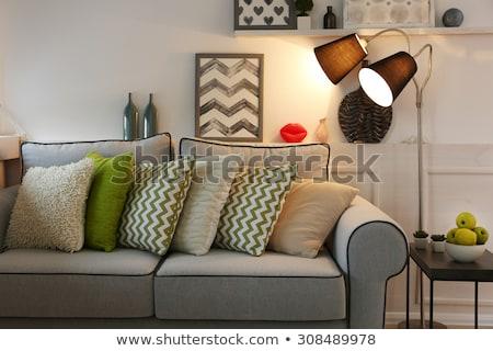 Stockfoto: Licht · huis · illustratie · water · zee · ontwerp