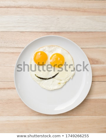 Smiling plate Stock photo © simply
