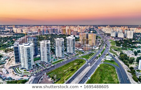 Osokorky district. Kiev, Ukraine Stock photo © joyr