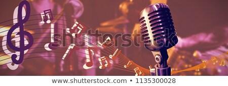 женщины гитарист концерта женщину Сток-фото © wavebreak_media