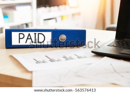 Долги служба папке расплывчатый изображение бизнеса Сток-фото © tashatuvango