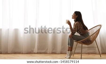 午前 かなり 小さな ブルネット 女性 ストックフォト © MikLav