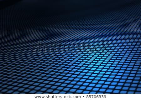 синий металл пластиковых текстуры искусства промышленных Сток-фото © sidmay