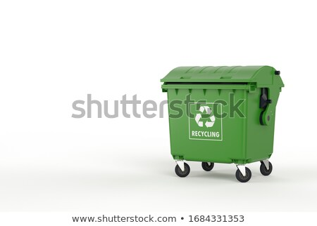Recycle bin surrounded by recycling Stock photo © IS2