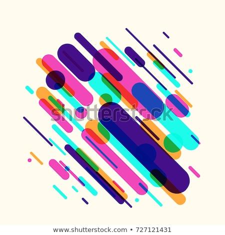 Model dizayn diyagonal hatları doku Stok fotoğraf © SArts